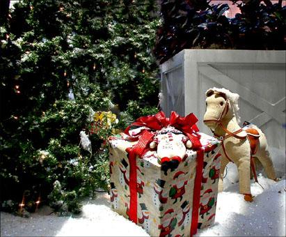 Vous ouvrez pas vos cadeaux ?
