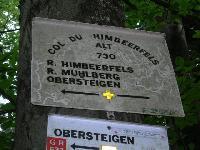 Col du Himbeerfelds - FR-57-0726