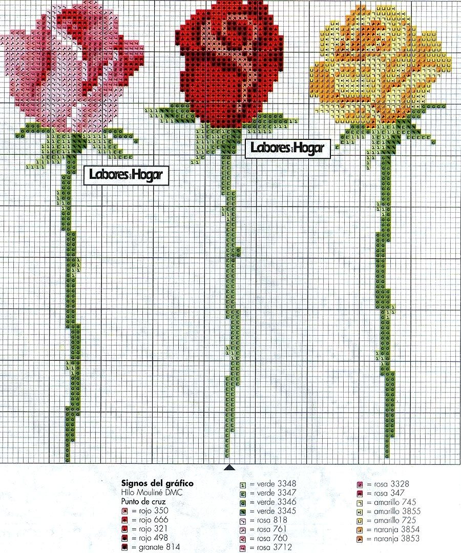 Point de Croix : Patron Fleur 12 dans Fleurs 080127111258178861653095
