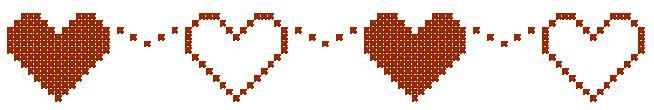 Point de Croix : Grille petit Coeur dans Coeurs 080129040848178861658010