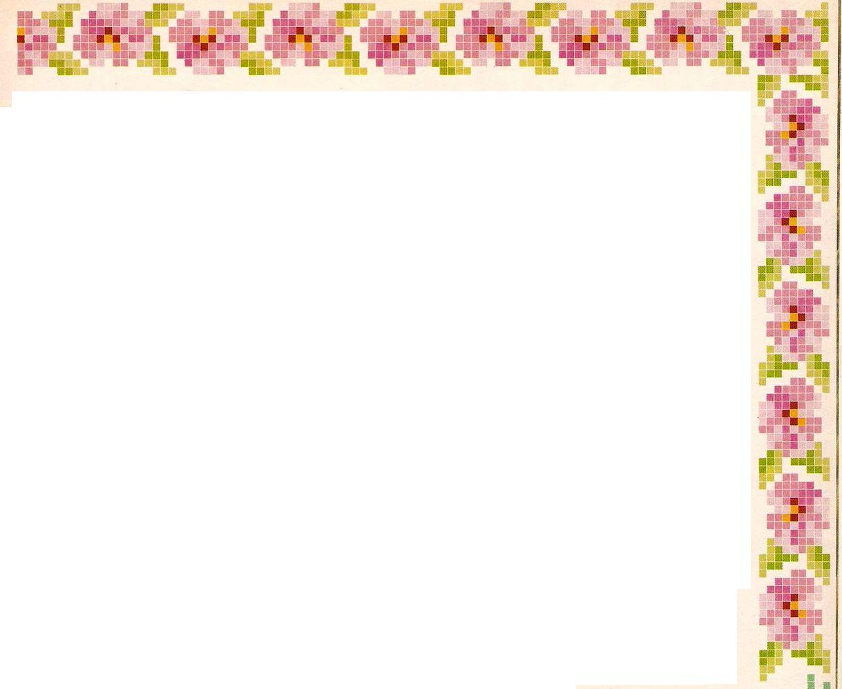 Point de Croix : Grille Coin (Fleur) dans Coins 080201123836178861667249
