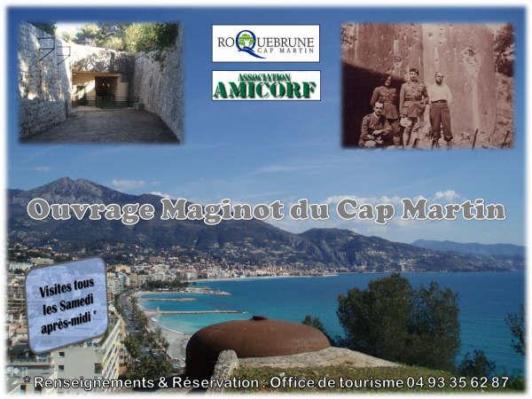 Ouvrage maginot du cap martin roquebrune - Roquebrune cap martin office du tourisme ...