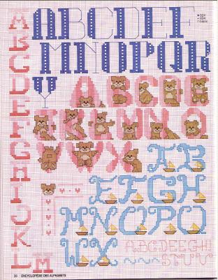 Point de Croix : Grille Alphabet dans Les Alphabets 080226010125178861761037