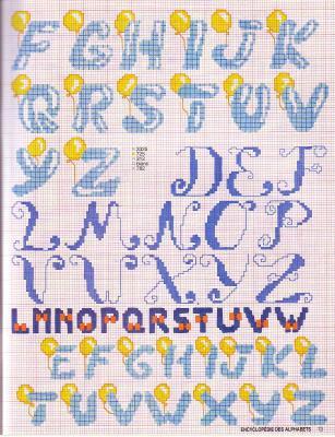 Point de Croix : Grille Alphabet dans Les Alphabets 080226012625178861761078