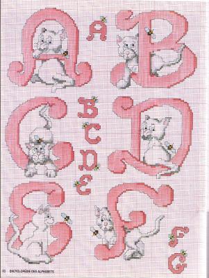 Point de Croix : Grille Alphabet dans Les Alphabets 080226122230178861760966