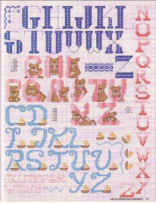 Point de Croix : Grille Alphabet dans Les Alphabets 080226124730178861761017