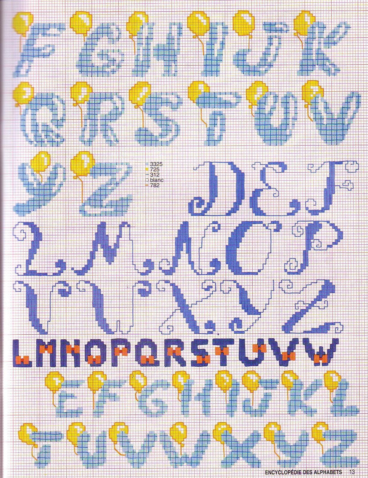 Алфавит вышивка крестом схемы 68