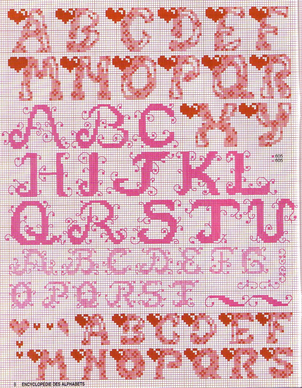Алфавит русский при вышивки крестиком