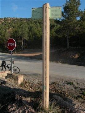 Collet de la Portella - ES-B-0505 (pancarte)