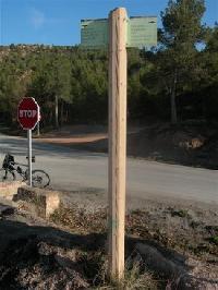 Collet de la Portella - ES-B-0505 (Poteau)