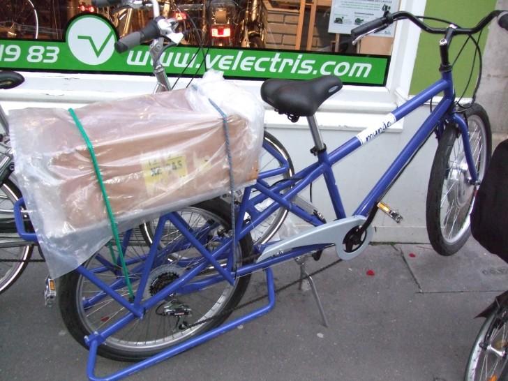 Nouveau vélo Vélectris..... utilitaire ... ! 080330035600142181888979