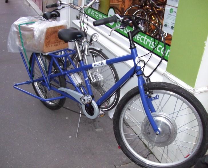 Nouveau vélo Vélectris..... utilitaire ... ! 080330035938142181888996