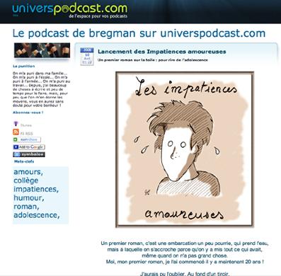 le podcast des Impatiences amoureuses