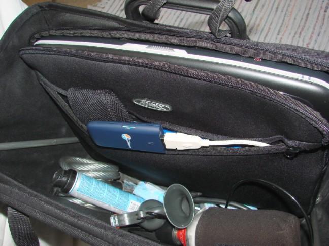 Cabas Brompton et ordinateur portable...... 080508101942152142043802