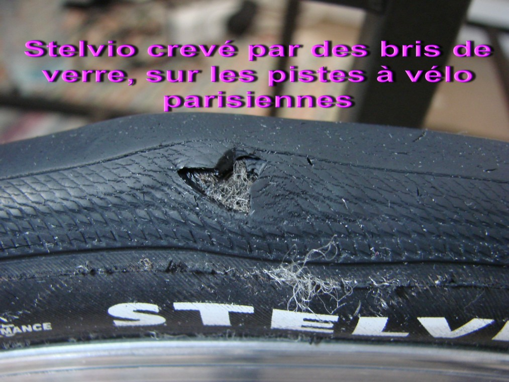 Changement de Stelvio... crevé avec bris de verre : 080522095526152142101201