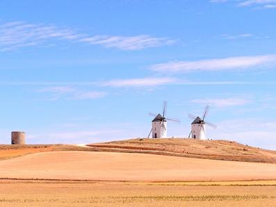 Vers des moulins à vent