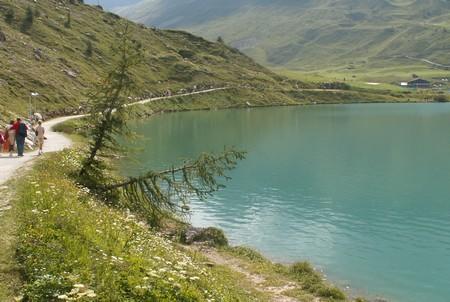 Le lac de Tignes