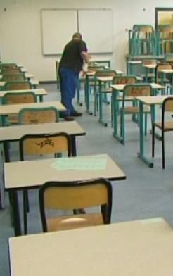 Salle déco pour les salles d'examens !