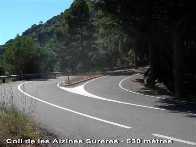 Coll de les Alzines Sureres - ES-T- 530 mètres