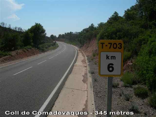Coll de Comadevaques - ES- T- 345 mètres