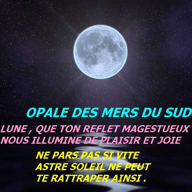 Lune que tu es belle la nuit quand ton image devient for Miroir sur la lune