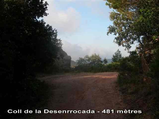 Collet de la Desenrrocada - 481 mètres