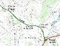 Coll de Tueres - ES-L- 495 mètres carte