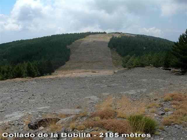 Collado de la Bubilla - ES-AL- 2185 mètres
