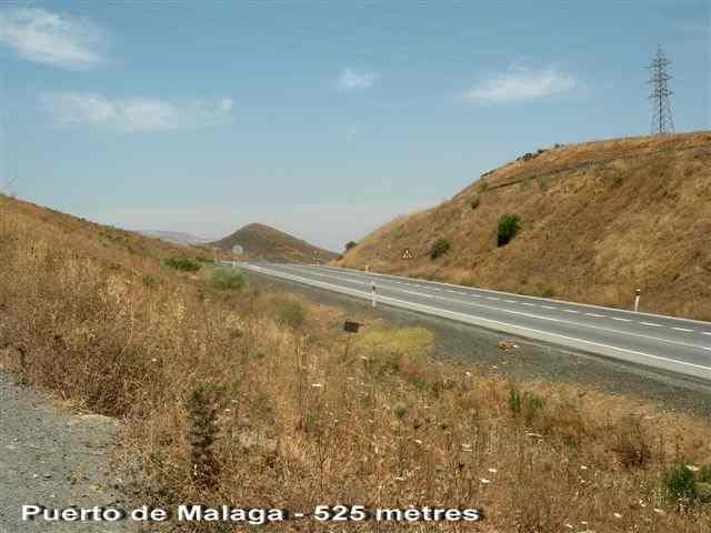 Puerto de Malaga - ES-MA- 525 mètres