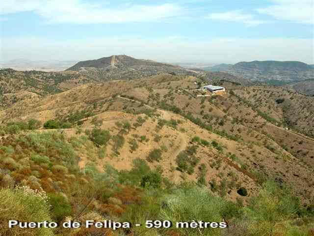 Puerto de Felipa - ES-MA- 590 mètres