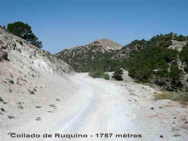 Collado de Ruquino - ES-GR- 1757 mètres