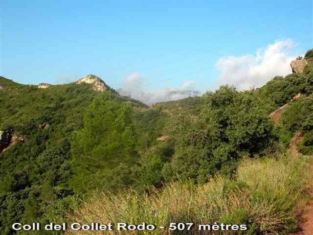 Coll del Collet Rodo - ES-T- 507 mètres