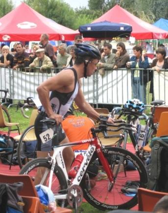 Mickaël Gros au Triathlon de Villevêque 080924083505413832533826