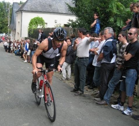Mickaël Gros au Triathlon de Villevêque 080924083536413832533827