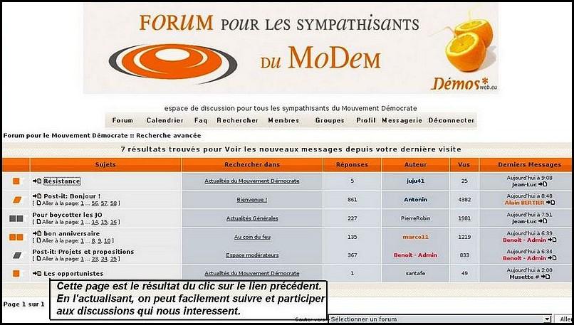 Forum: mode d'emploi à l'usage d'un nouvel arrivant 081001080101408042561005