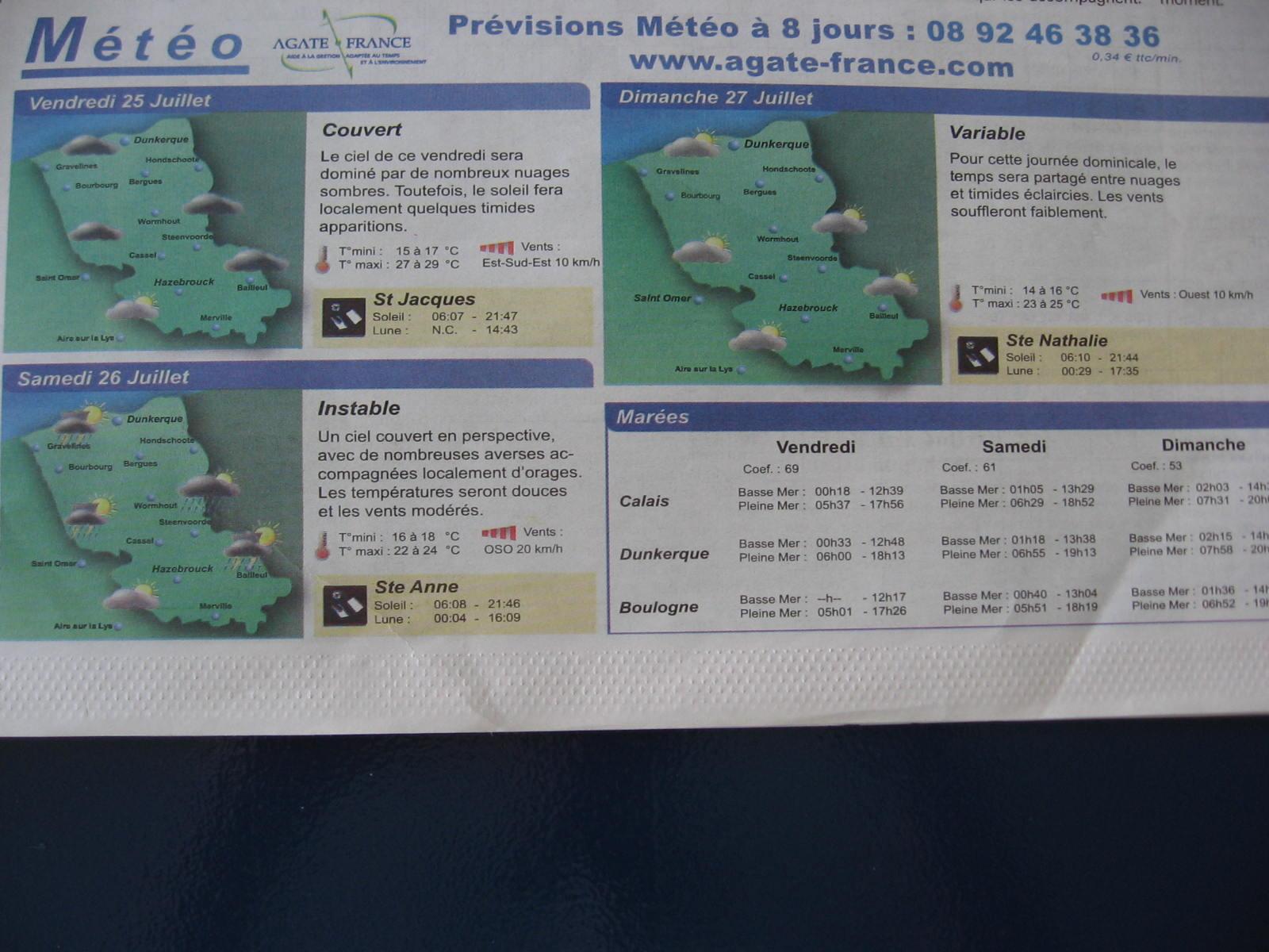De weekbladen van la voix du Nord in Frans-Vlaanderen 081020090724440052640021