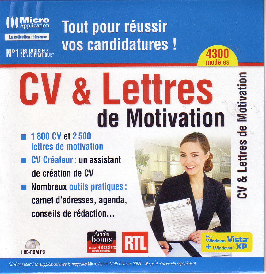 micro application cv lettres de motivation   serfaving