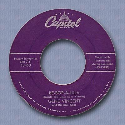 Be Bop A Lula/Woman Love - Capitol F3450 081027095238152912669262