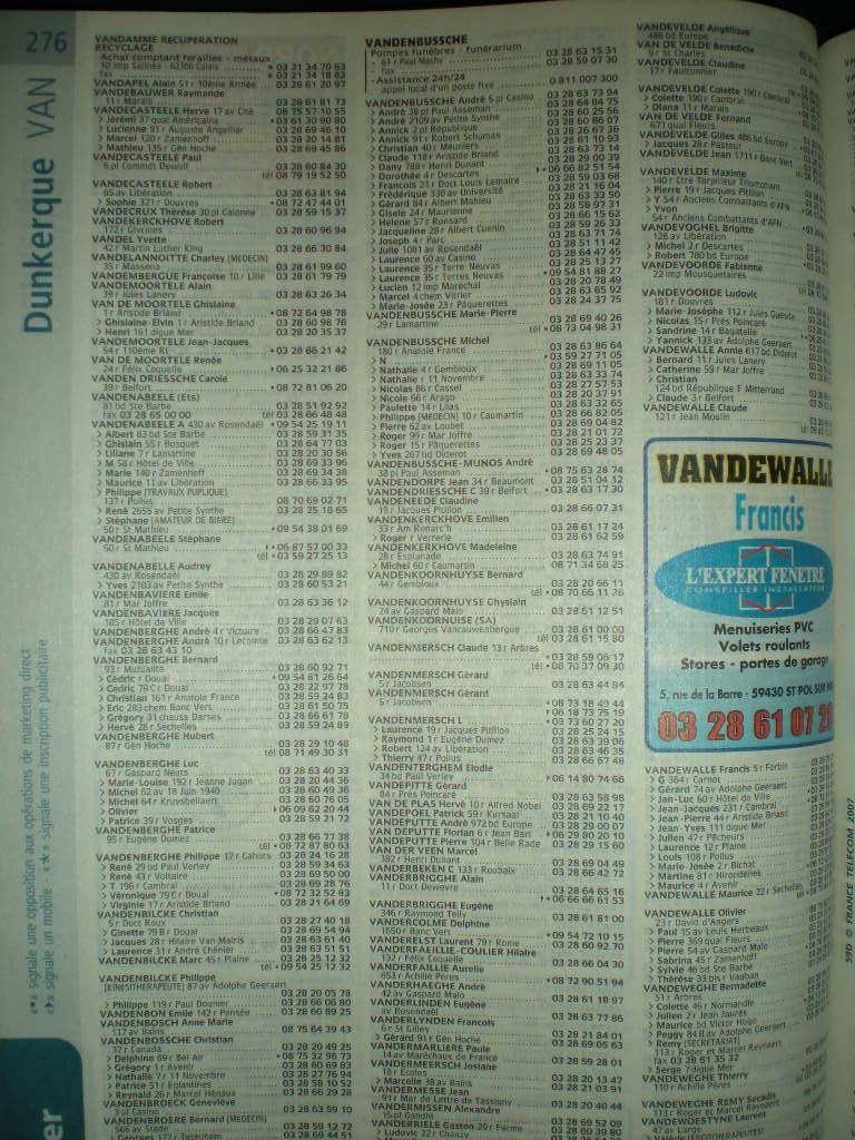 Telefoonboek van de Franse Westhoek 081124060639440052793650