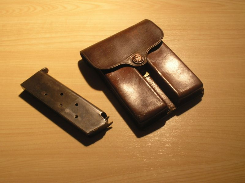 Porte-chargeurs cuir M1911 081213051042486972868954