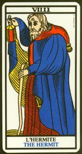 "La carte du tarot ""L'Hermite"" 081217090529385002888130"