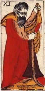 "La carte du tarot ""L'Hermite"" 081228025614385002923838"