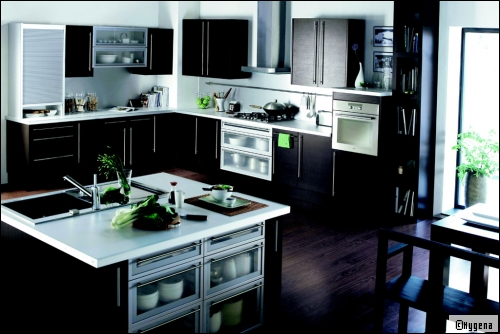 cuisine descriptifs photos de cuisines contemporaines classiques design. Black Bedroom Furniture Sets. Home Design Ideas