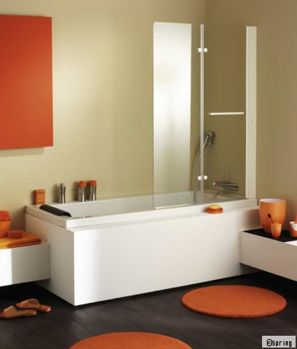 salle bain orange marron photo 55 salle de bain orange et marron - Salle De Bain Orange Et Marron