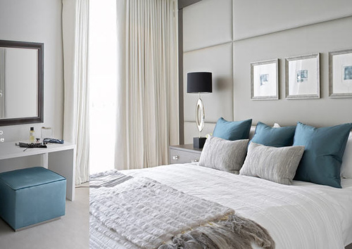 Chambre Bleu Turquoise Et Taupe. Simple Charmant Chambre Bleu ...