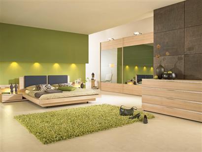 Best Deco Chambre Marron Et Vert Ideas - House Design - marcomilone.com