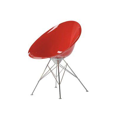 Chaise ero lsl avec quatre pieds kartell for Quatre pieds quatre chaises