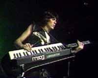 Didier Marouani avec son Moog Liberation