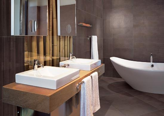 Id es pour petite salle d 39 eau for Photos sdb moderne