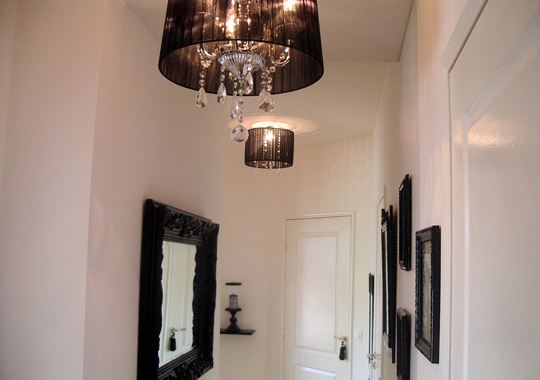 Emejing Deco Couloir Noir Et Blanc Images - Ridgewayng.com ...